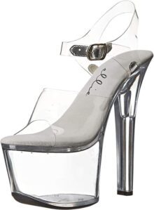 Ellie Shoes Mujer 711Flirt C Sandalia de Plataforma