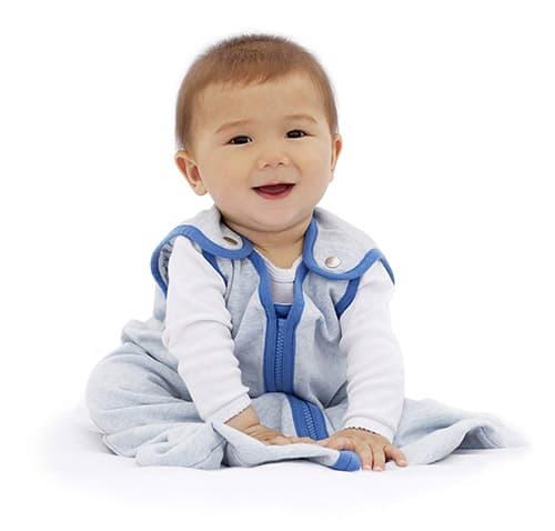 Baby Deedee 426 Saco de dormir tipo nido para bebé, talla grande, color azul de ensueño