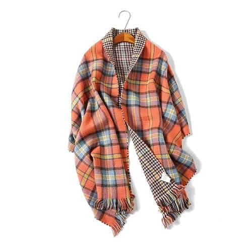 Manta de invierno bufanda chal y envoltorios para vestidos de noche de cachemira sensación bufandas grandes bufandas bufandas para hombres y mujeres
