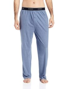 Hanes Men's Knit Pant with Elastic
