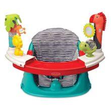 Asiento elevador 3 en 1 de Infantino, se convierte en un asiento de alimentación elevador o un asiento de actividad para bebé