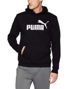 PUMA ESS Hoody FL Big Logo Sudadera con Capucha para Hombre