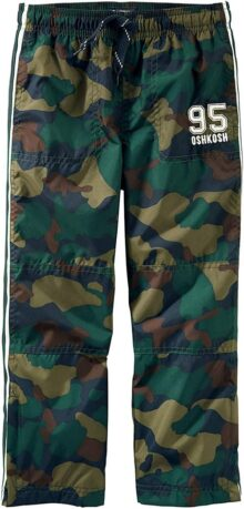 OshKosh B'Gosh Pantalones de chándal de Ajuste clásico Mate Pantalones para Niños
