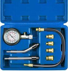 Kit de Comprobador de Compresión para Bujías de Pistón Automático, Medidor de Presión de Cilindro de Motor de Gasolina de Combustible para Vehículos, Motocicletas, ATV, UTV, Barcos, Motos de Nieve