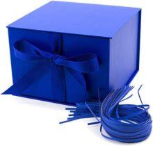 Hallmark - Cuaderno con resortes, Azul marino, Large, 1