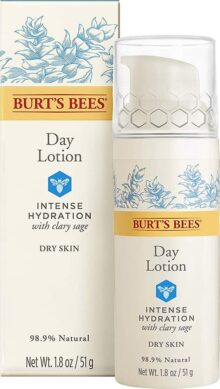 Burt's Bees Intense Hydration Day Lotion, Moisturizing Face Lotion, 1.8 Ounces