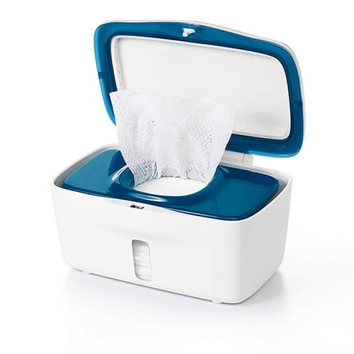 OXO Tot Perfect Pull Wipes Dispenser, Navy