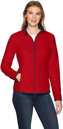 Amazon Essentials Women 's Full-Zip chamarra de forro polar