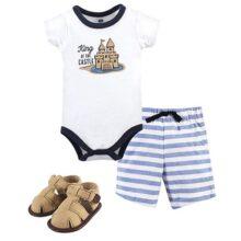 Hudson Baby - Conjunto de Ropa Interior y Zapato de algodón para bebé