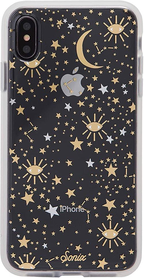 Sonix, Cosmic, estuche para telefono celular para iPhone XS Max, [Prueba de caída militar certificada] Funda protectora transparente para mujer para Apple iPhone XS MAX