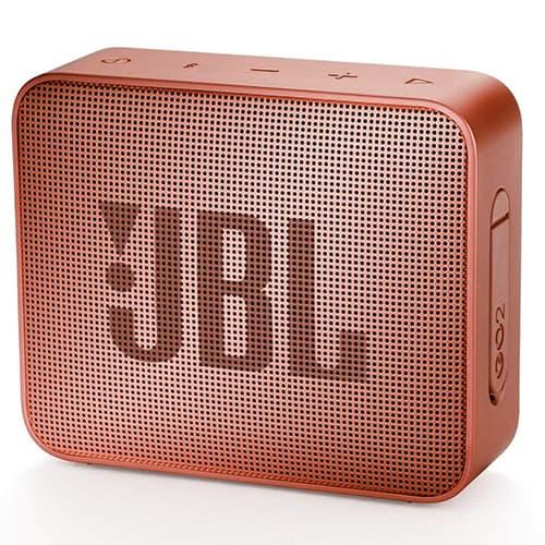JBL GO2 - Bocina Bluetooth portátil (resistente al agua), Canela