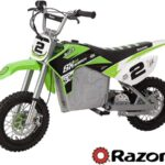 Razor SX500 McGrath, Electric Motorcycle, Moto Eléctrica, Dirt Rocket  - Verde