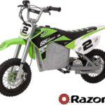 Razor SX500 McGrath, Electric Motorcycle, Moto Eléctrica, Dirt Rocket - Verde