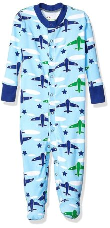 New Jammies Boys Organic Baby Footie Sleeper