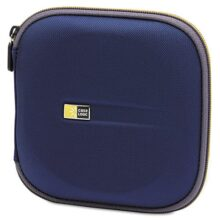 Case Logic EVA - Funda Moldeada para CD/DVD, Azul, 24