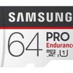 SAMSUNG Pro Endurance - Tarjeta Micro SDXC con Adaptador, 64 GB