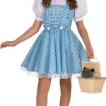Rubie's Mago de Oz Disfraz de Lujo de Dorothy Deluxe Costume, Un Solo Color, Mediano