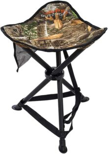 ALPS OutdoorZ Tri-Leg Stool, Realtree Edge