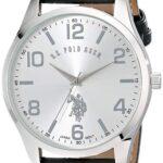 U.S. Polo Assn. Classic USC50224 Reloj de hombre, análogo de cuarzo en color negro