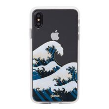 Sonix, Tokyo Wave, estuche para telefono celular para iPhone XS Max, [Prueba de caída militar certificada] Funda protectora transparente para Apple iPhone XS MAX