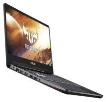 "Asus TUF FX505DT Gaming Laptop, 15.6"" 120Hz Full HD, AMD Ryzen 5 R5-3550H Processor, GeForce GTX 1650 Graphics, 8GB DDR4, 256GB PCIe SSD, Gigabit Wi-Fi 5, Windows 10 Home, FX505DT-AH51, RGB Keyboard"