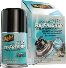 Meguiar´s G16402 Sistema Eliminador de Olores y Ambientador Aroma New Car