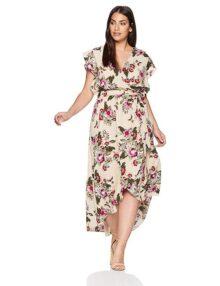 City Chic Lolita Floral - Vestido para Mujer (Talla Grande)