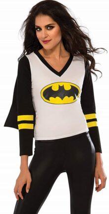 Rubie's DC Superheroes Batgirl playera deportiva para mujer, multicolor, grande, Multicolor, S