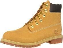 Timberland Junior 6-Inch Premium WP Boots Wheat Botas de Senderismo para Bebé-Niños