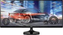 "LG 25UM58-P 25"" Full HD IPS Negro Pantalla para PC - Monitor (63.5 cm (25""), 250 CD/m², 2560 x 1080 Pixeles, 5 ms, LED, Full HD)"