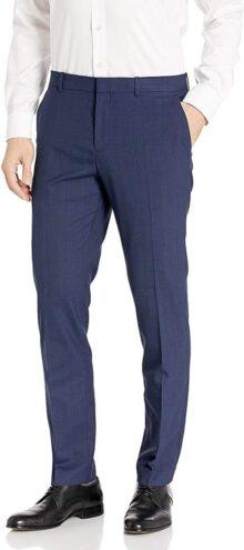 Perry Ellis Portfolio - Pantalón de Cuadros Pantalones para Vestir para Hombre