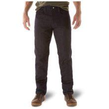 5.11 Tactical Defender-Flex Jeans Rectos, Tela elástico mecánico, Bolsillos clásicos, Estilo 74477 Pantalones Largos clásicos