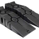 RhinoGear 11909ABMI RhinoRamps Rampas para Auto, 12,000 Libras, 2 piezas