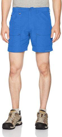 Columbia PFG Permit II Pantalón Corto, Absorbe y Protege del Sol para Hombre