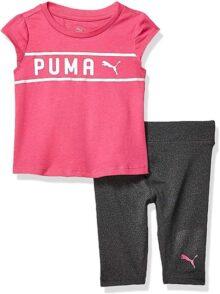 Puma Conjunto de Leggings para niñas