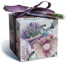 Diseño Lissom, Juego de Bloques de Papel, Lavender Allure, 1, 1