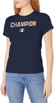 Champion La Playera Original. Camiseta para Mujer