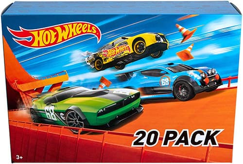 Hot Wheels Set de 20 vehículos, surtidos