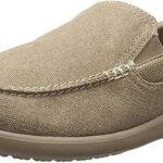 Crocs Santa Cruz 2 Luxe M Zapatos para Hombre Loafer Confort Negros para Hombre