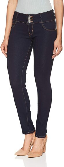 Silver Plate D8199 Jeans para Mujer