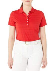 Callaway Playera Golf Manga Corta Cuello Abierto Tipo Polo para Mujer