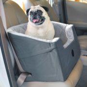 """K&H PET PRODUCTS - Asiento Elevador para Mascotas, Gris, Large (14.5"""" x 24"""")"""