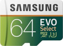 Samsung MB-ME64GA/AM MicroSDHC Evo Select- Tarjeta de memoria  de 64 GB con adaptador