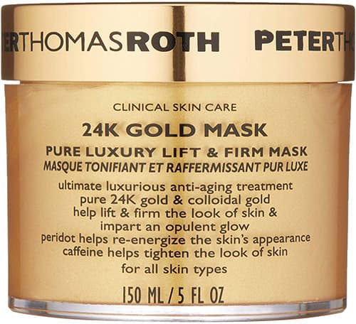 Peter Thomas Roth 24K Gold Mask Pure Luxury Lift & Firm Mask for Unisex Mask 5 oz