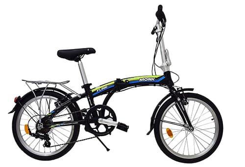 Monk Bicicleta Flink Plegable/Alum Rodada-20 7 Velocidades