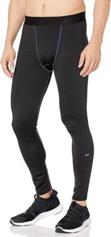 Amazon Essentials Control Tech - Mallas térmicas de Longitud Completa Pantalones de compresión para Hombre