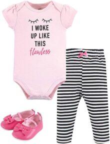 Little Treasure - Conjunto de pantalón y Zapato para bebé
