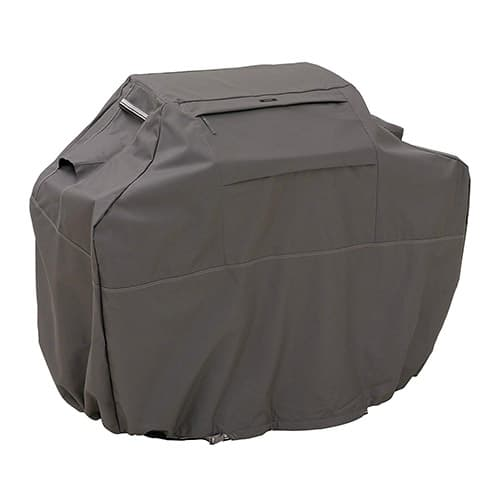 Classic Accessories Ravenna Grill Cover, Large, Taupe, 64 Inch