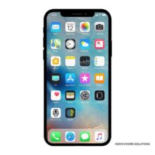 Apple iPhone X, GSM desbloqueado 5.8in (Renewed), 256 GB, Plateado