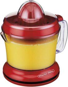 Proctor Silex 66335 Exprimidor de Jugos y Cítricos Eléctrico de 1 litro - Exprimidor de Naranjas, Color Rojo